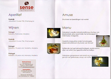 Sense Restaurant - Holland